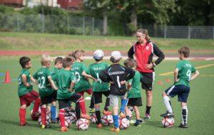 Fußballfabrik - Traineransprache