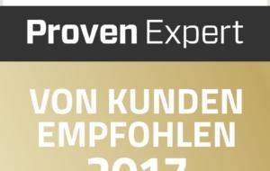 McDATA - ProvenExpert-von Kunden 2017
