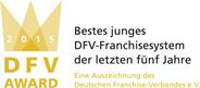 global office - DFV-Logo-Bestes-junges-Franchisesystem-2015-RGB