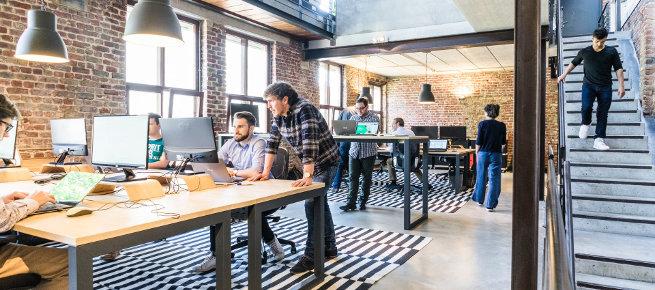 Bild eines typischen Startups