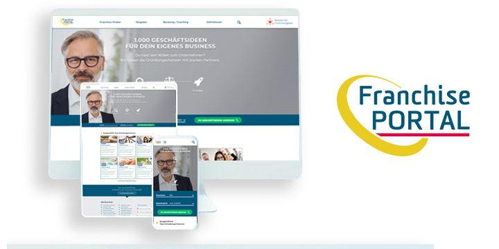 FranchisePORTAL – besser mit System gründen
