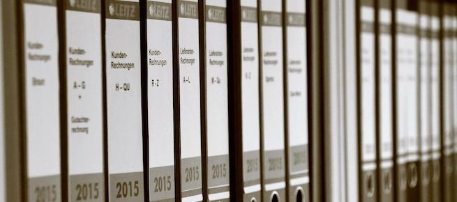 Buchführung: Verbuchung sämtlicher Geschäftsvorfälle